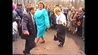 Измайловский пятачок пляски играют Алишин В.Г. и Журавлев В.И.