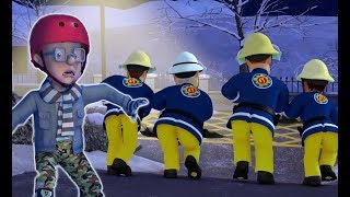 Fireman Sam 🌟Fire at the Ice Rink! 🔥Firefighter's Best Moments 🔥Kids Cartoons