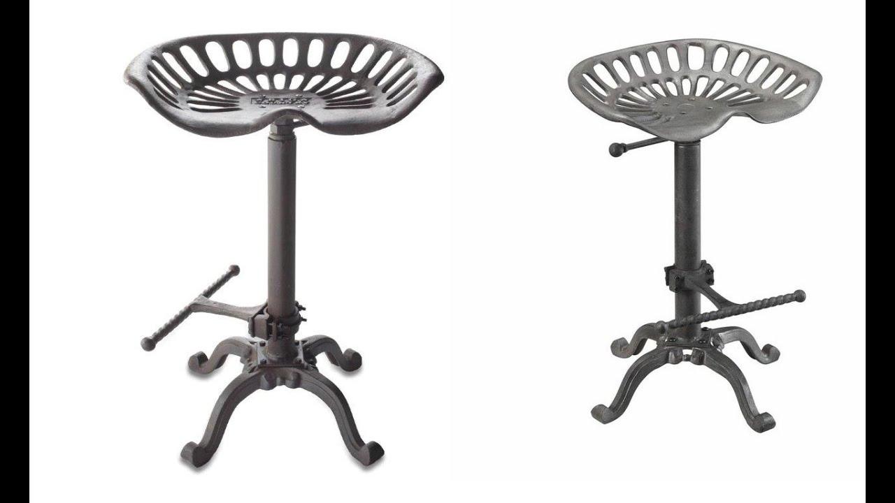 Unique tractor seat bar stools