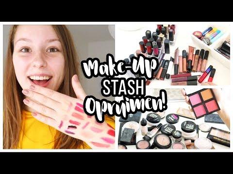 MAKE-UP STASH OPRUIMEN! 💄 ∙ All About Leonie