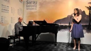Sarau Repsol Sinopec 27/06/2012 - Antonio Adolfo e Carol Saboya - Sá Marina