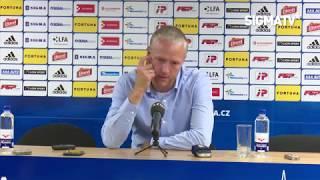 Trenér Jílek po utkání s týmem FK Dukla Praha