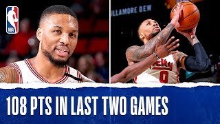 Damian Lillard Makes TRAIL BLAZERS HISTORY