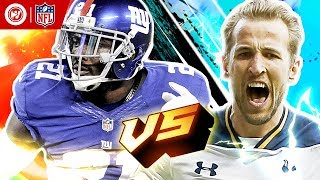 Harry Kane vs. Landon Collins | Tottenham Hotspur & New York Giants