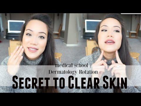 Medical School | Dermatology Rotation - Secret to Clear Skin