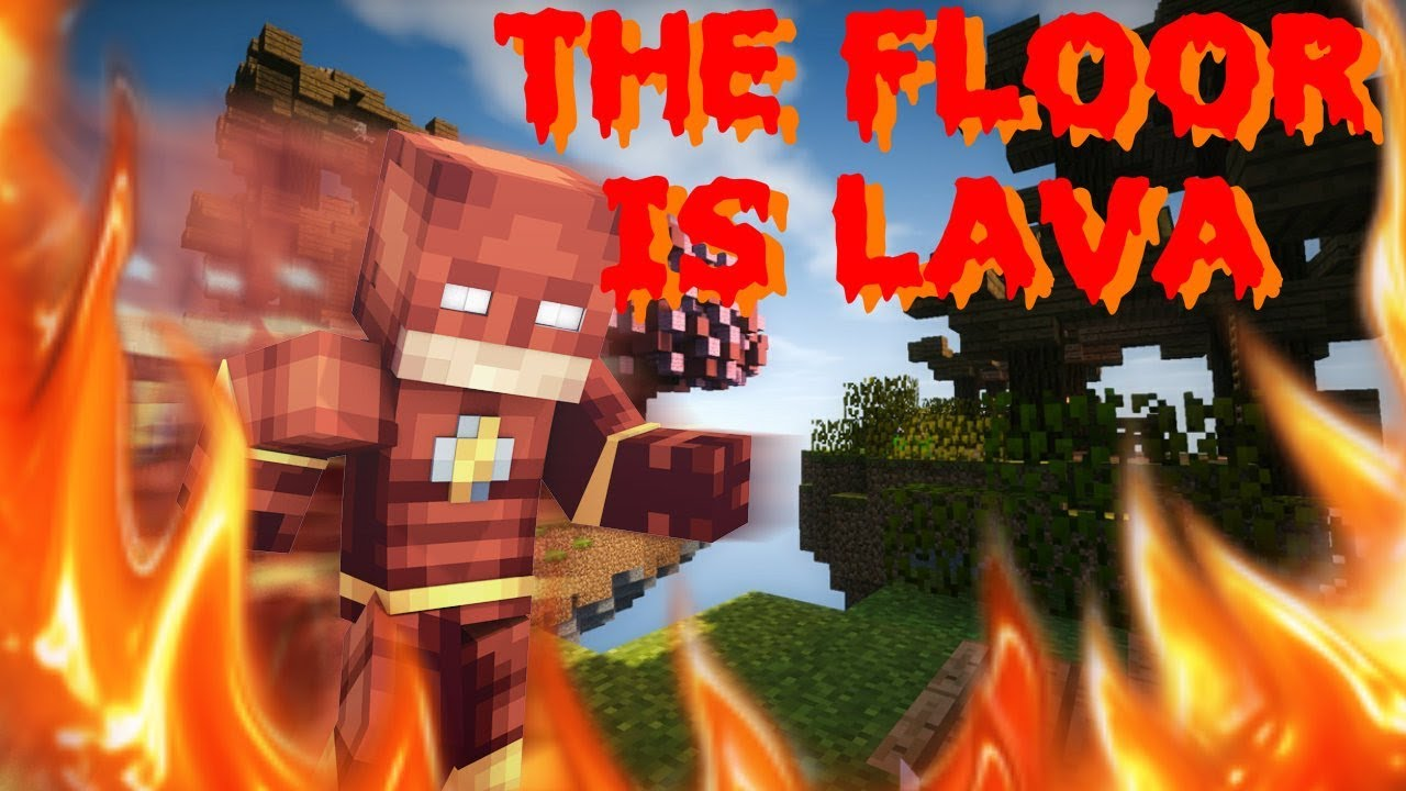 The Floor Is Lava In Minecraft Youtube