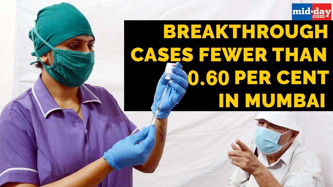 Breakthrough cases fewer than 0.60 per cent in Mumbai