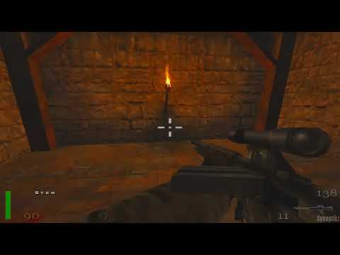 #13 - Return To Castle Wolfenstein Gameplay Deutsch Uncut PC (ENDE/END)