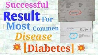 Diabetes patient successful results