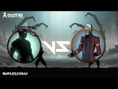 Shadow Fight 2 Titan Update Challenging Cypher Boss Battle