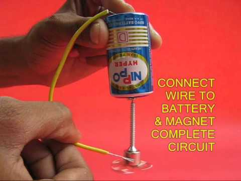 Simple motor marathi 13mb youtube for Simple toy motor project