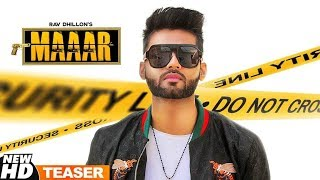 Teaser | Maaar | Rav Dhillon Ft Gurlej Akhtar | Coming Soon | Speed Records
