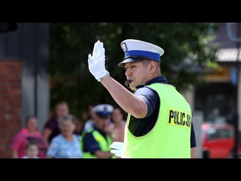 Zmagania policjantów ruchu drogowego - Konstantynów