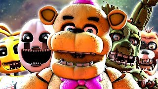 ALL FNaF Ultimate Custom Night Voices animated