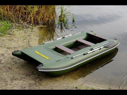 Выбор лодки для рыбалки | Bober 350 легкая рыбацкая лодка