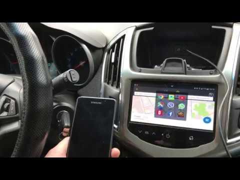 Подключение Samsung через MirrorLink к Chevrolet Mylink