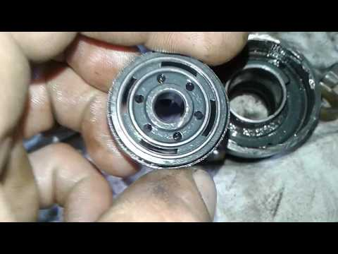 KYB ремонт амортизатора с помощью болгарки сварки и дрели