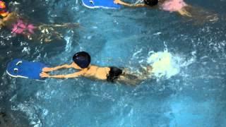 Дима: открытый урок в бассейне