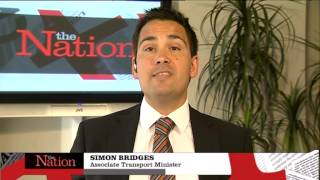 Simon Bridges on The Nation 27/10