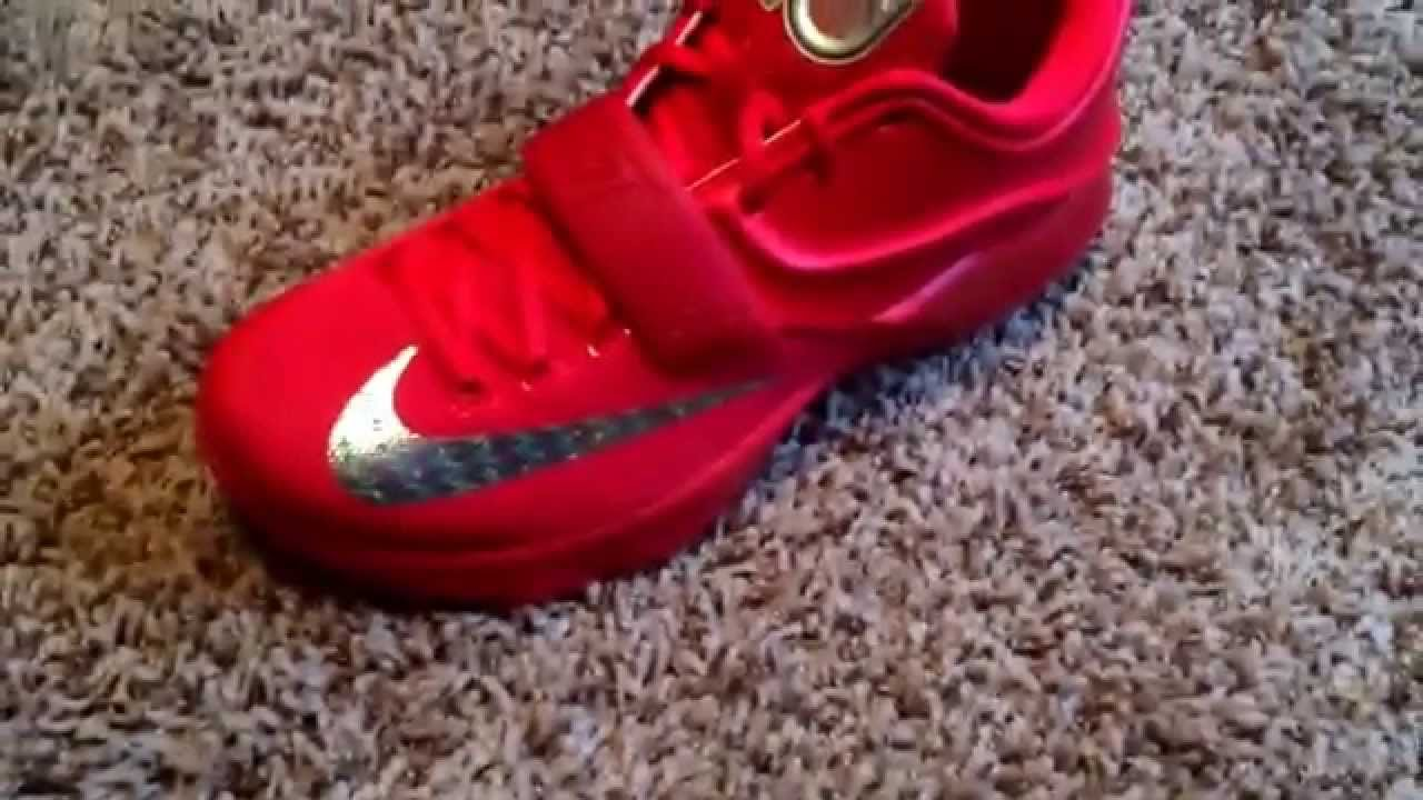 the latest c9c69 7d1a0 Nike Kd 7 Global Games / Red October (Unboxing) & (Review) (HD)