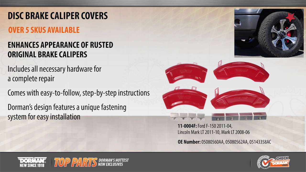 Disc Brake Caliper Cover By Dorman Products