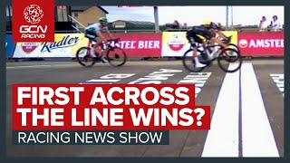 When The Finish Line Isn't The Finish Line | Did Wout van Aert Really Win Amstel Gold?