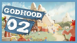 """Let Slip The Dogs Of War"" Godhood Gameplay PC Let's Play Part 2"