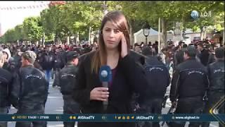 مراسلة الغد: مواجهات بين أنصار حزب حركة النهضة وأحزاب المعارضة بتونس