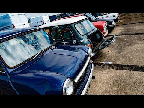 ABANDONED!! RARE BRITISH CLASSIC CARS CRAZY BARN FINDS!! UK MINI JAGUARS