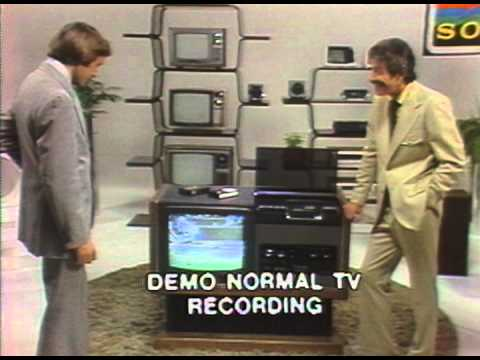 First Betamax - Salesman Training Video  1977