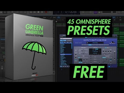 "Free Omnisphere Preset Bank ""Green Umbrella"" 45 Presets For Omnisphere"