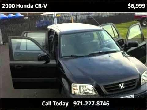 2000 Honda CR-V Used Cars Portland OR