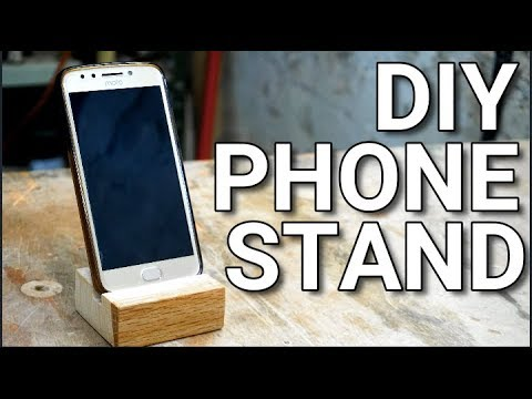 HOW TO MAKE A DIY PHONE STAND