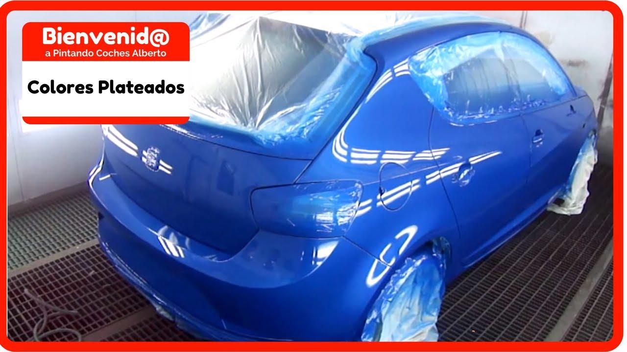 Como pintar un coche en azul youtube for Colores de pintura azul