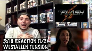 THE FLASH - 5x19 &#39SNOW PACK&#39 REACTION (12)