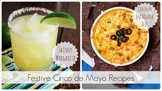 Cinco De Mayo: Skinny Margaritas & Enchilada Dip