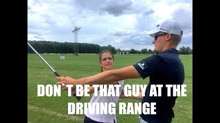 Golf Stereotypes/ Don´t Be That Guy At The Driving Range