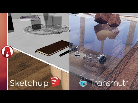 ​​Easy Import 3D Models Into Sketchup With Materials | Transmutr Sketchup Importer