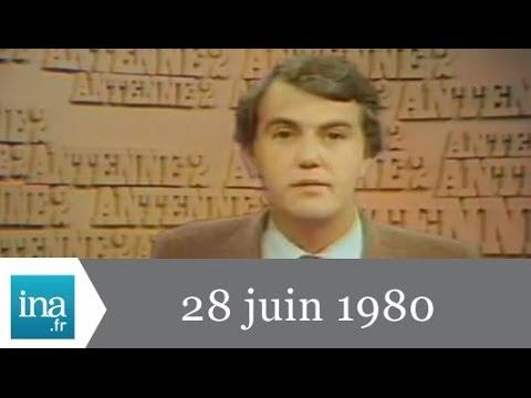 20h Antenne 2 du 28 juin 1980 - Guy Drut champion - Archive INA