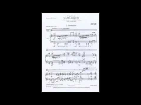 Dahl: Concerto for Saxophone I. Recitative