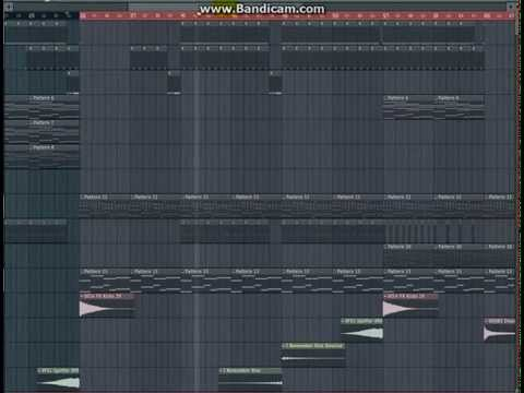 My First Bandicam Video ( Fl Studio music production )