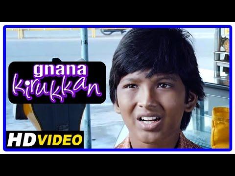 Gnana Kirukkan Tamil Movie | Scenes | Sushmita's Son Works In A Hotel | Jega
