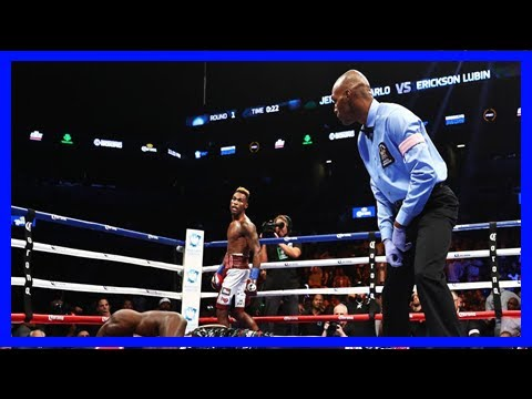Breaking News   Video: jermell charlo brutally knocks out erickson lubin in one round