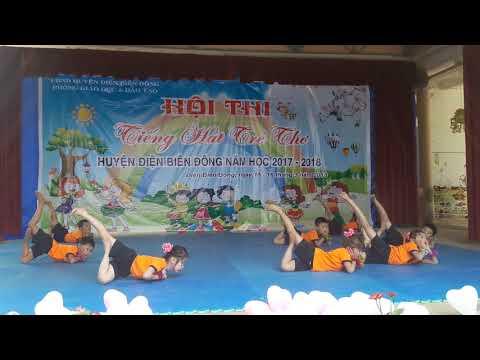 Hội thi tiếng hát tuổi thơ Trường MN Na Phát. Xã Na Son. Điện Biên Đông