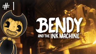 And so it begins... -Bendy and the Ink Machine Chapter 1