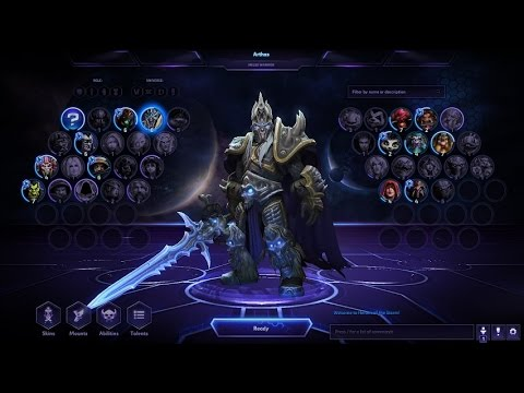 Heroes of the Storm: UI Creation Tutorial