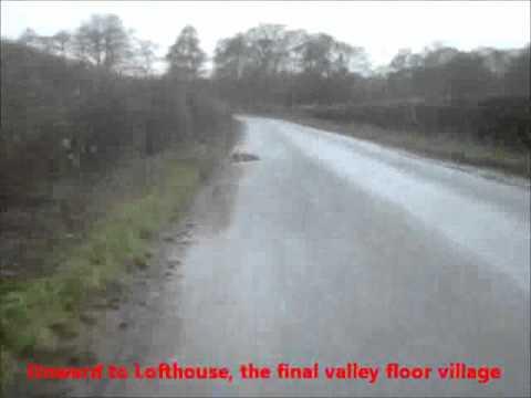 Pateley Bridge to Lofthouse Waterfall, at Speed
