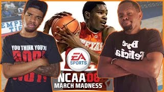 MARCH MADNESS BUZZER BEATER!! - NCAA March Madness 2008 Gameplay | #ThrowbackThursday