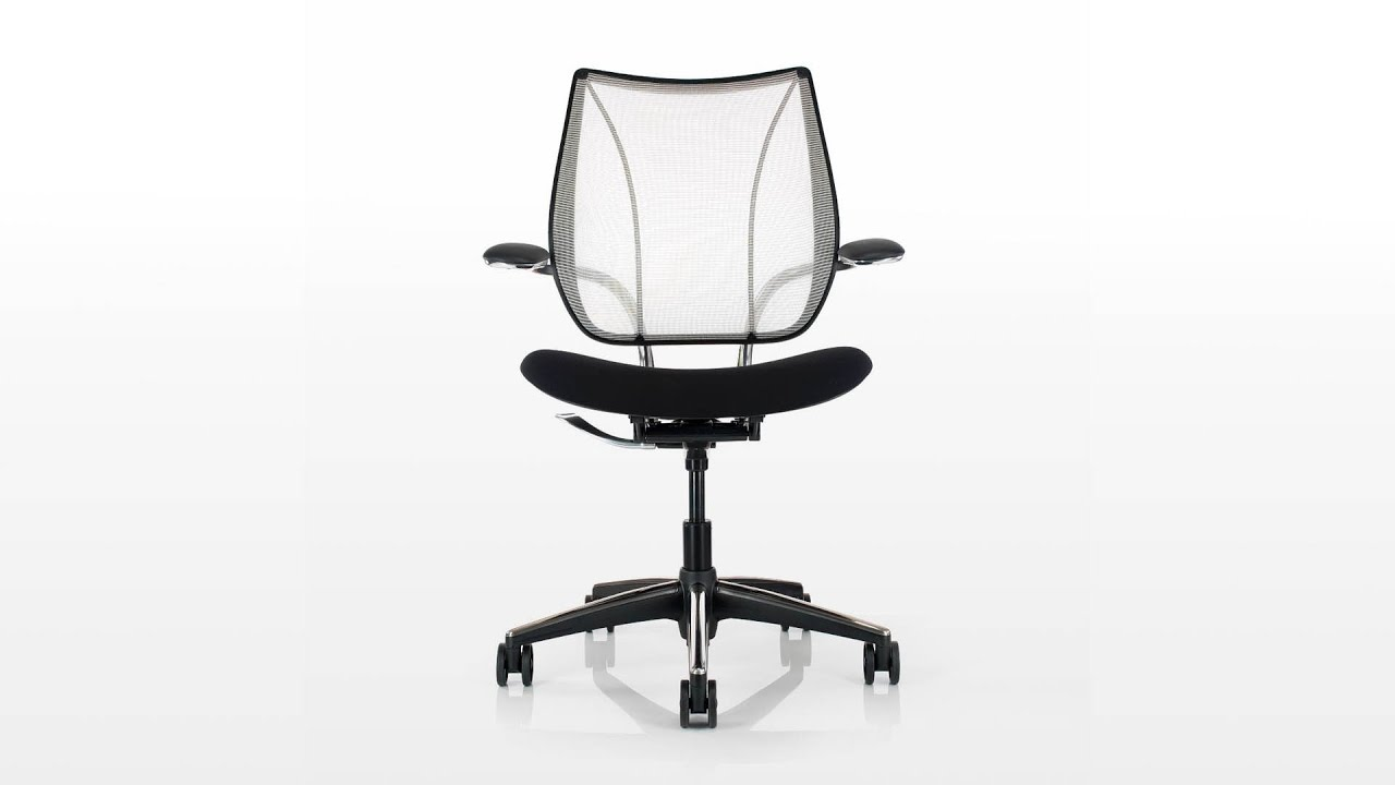 humanscale liberty chair review ivory covers spandex youtube