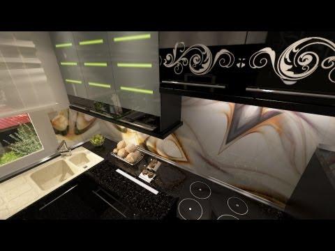 KüchenmöbelPainted Hochglanz-Küche